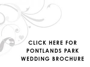 Pontlands Park Wedding Brochure click here graphic