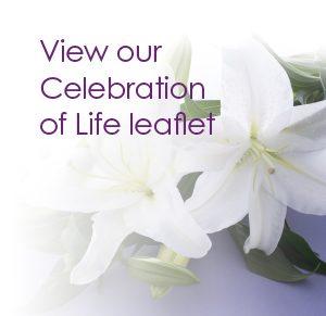 Pontlands Park Celebration of Life leaflet